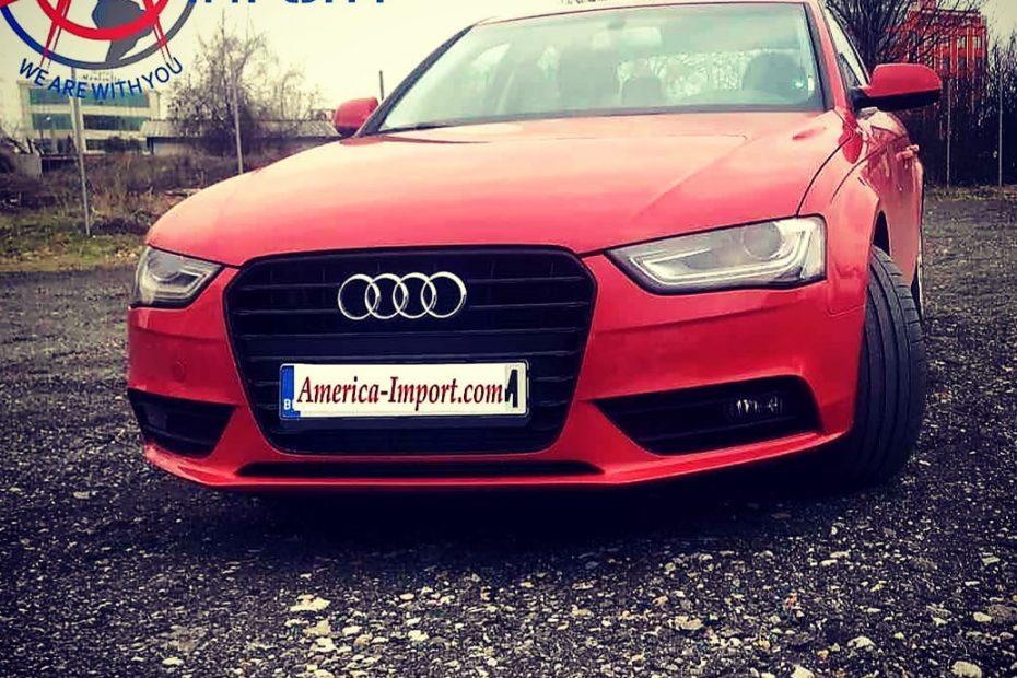Audi A4 America Import Америка Импорт